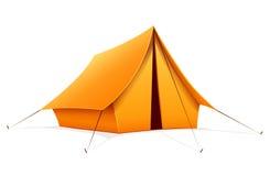 Tente de camping touristique Photographie stock libre de droits