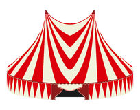 Tente de cirque illustration stock