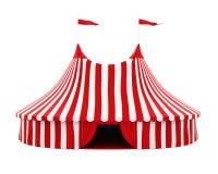 Tente de cirque d'isolement illustration libre de droits