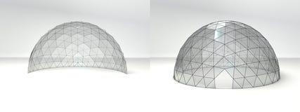 Tente de dôme par jour Image stock