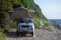 Tente de toit Photographie stock libre de droits