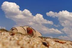 Tente de touristes Image stock