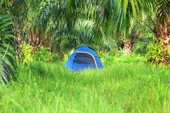 Tente de touristes Photographie stock libre de droits