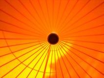 Tente orange Photos stock