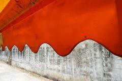 Tente orange Photos libres de droits