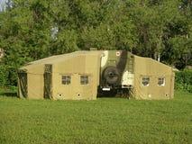 Tente russe d'hôpital militaire Image stock