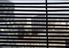 Tente transparente de fenêtre Photographie stock
