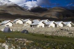 Tented tourist camp Royalty Free Stock Photos