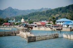 Tentena,苏拉威西岛 免版税库存图片