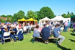 Tenterden-Lebensmittel und Getränk-Festival Stockfoto