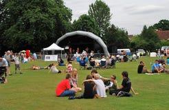 tentertainment för england festivalmusik Royaltyfri Foto