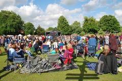Tentertainment free music festival, England Stock Photography