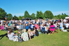 Tentertainment music festival 2015 Royalty Free Stock Photography