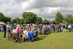 Tentertainment music festival at Tenterden Stock Image