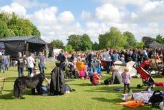 Tentertainment music festival, Tenterden Stock Image