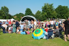 Tentertainment music festival, Tenterden Stock Image