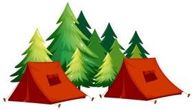 tentes illustration stock