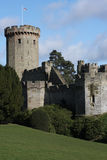 Tentes au château de Warwick Photo libre de droits