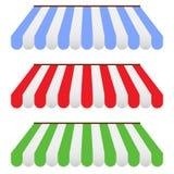 Tentes colorées illustration de vecteur