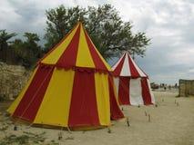 Tentes de cirque Photographie stock