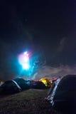 Tentes de flambage Images stock