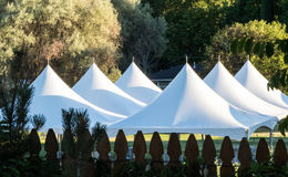 Tentes de jardin Photo stock