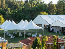 Tentes de jardin Photo libre de droits