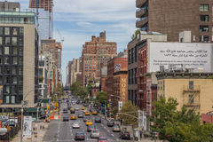 Tenth avenue in Chelsea, New York City Royalty Free Stock Image