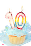 Tenth  birthday Stock Photography