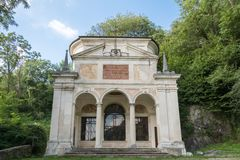 Tenth Chapel at Sacro Monte di Varese. Italy Stock Photo