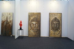 The Tenth China (Shenzhen) International Cultural Industry Fair in winter craft art exhibition Stock Image
