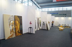The Tenth China (Shenzhen) International Cultural Industry Fair in winter craft art exhibition Royalty Free Stock Images