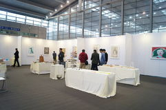 The Tenth China (Shenzhen) International Cultural Industry Fair in winter craft art exhibition Royalty Free Stock Image