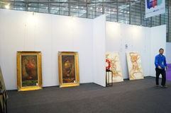The Tenth China (Shenzhen) International Cultural Industry Fair in winter craft art exhibition Stock Photos