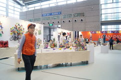 The Tenth China (Shenzhen) International Cultural Industry Fair in winter craft art exhibition Stock Photo