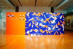 The tenth Macao Biennial Exhibition Design Royalty Free Stock Images