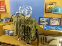 Tentoongesteld voorwerp bij de Militaire Musea, Calgary Stock Foto's