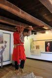 Tentoongesteld voorwerp van Franse en Indische oorlog Fort Ticonderoga, New York, 2014 Royalty-vrije Stock Foto