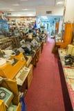 Tentoongestelde voorwerpen van het Museum van de Geschiedenis van de Centrale Telegraaf, Moskou, Rusland Royalty-vrije Stock Fotografie