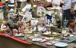 Tentoonstelling-markt van Antiquiteiten Royalty-vrije Stock Fotografie