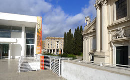 Tentoonstelling Toulouse-Lautrec in Rome, 2016 Royalty-vrije Stock Afbeeldingen