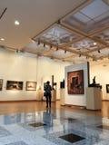 Tentoonstelling van Eigentijds Art. stock foto's