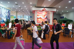 2015 Tentoonstelling van het het merkondergoed van China (Shenzhen) de internationale Royalty-vrije Stock Afbeeldingen