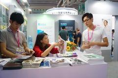 2015 Tentoonstelling van het het merkondergoed van China (Shenzhen) de internationale Royalty-vrije Stock Foto