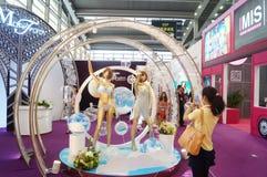 2015 Tentoonstelling van het het merkondergoed van China (Shenzhen) de internationale Royalty-vrije Stock Foto's
