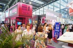 2015 Tentoonstelling van het het merkondergoed van China (Shenzhen) de internationale Royalty-vrije Stock Afbeelding