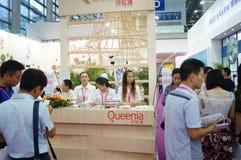 2015 Tentoonstelling van het het merkondergoed van China (Shenzhen) de internationale Stock Afbeelding