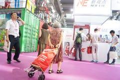 2015 Tentoonstelling van het het merkondergoed van China (Shenzhen) de internationale Stock Afbeeldingen