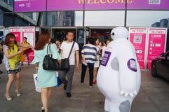 2015 Tentoonstelling van het het merkondergoed van China (Shenzhen) de internationale Stock Foto