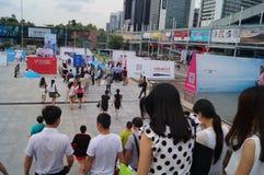 2015 Tentoonstelling van het het merkondergoed van China (Shenzhen) de internationale Stock Fotografie